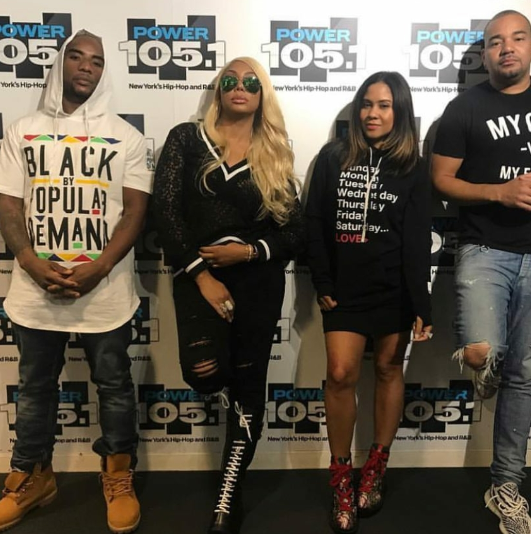 Image result for tamar on the breakfast club 2017