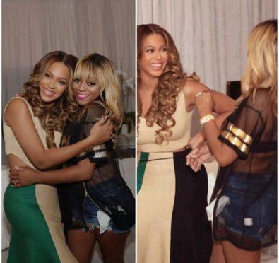 Beyonce & LaTavia Roberson Reunite at 'OTRII Tour' Houston Stop Following LeToya Luckett Reunion [Photos]